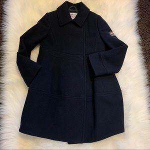 NWT Armani Junior Navy Dress Coat Sz 4 / 4A